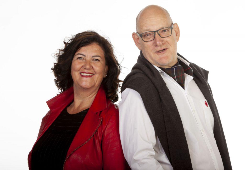 Rosa Maria Eglseer und Peter Zellermayer